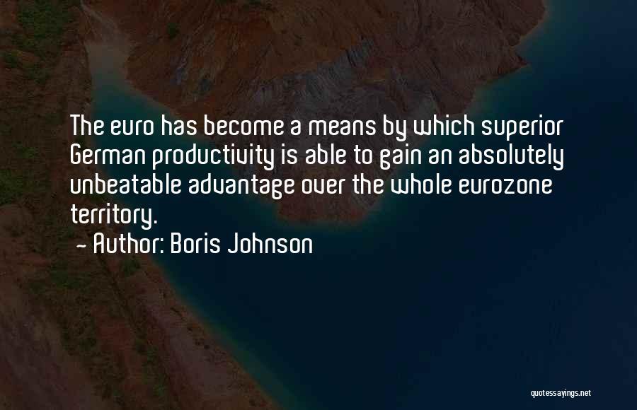 I'm Unbeatable Quotes By Boris Johnson