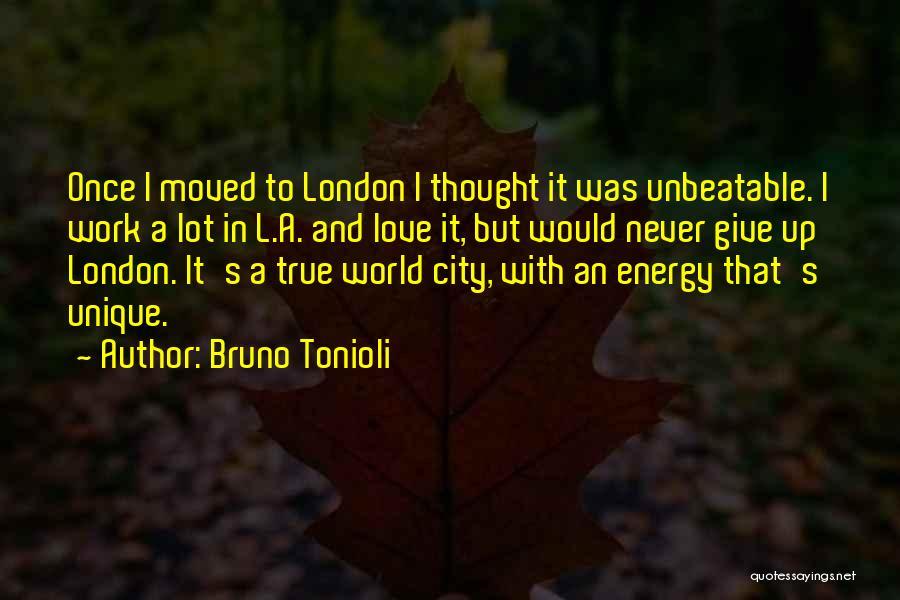 I'm Unbeatable Quotes By Bruno Tonioli