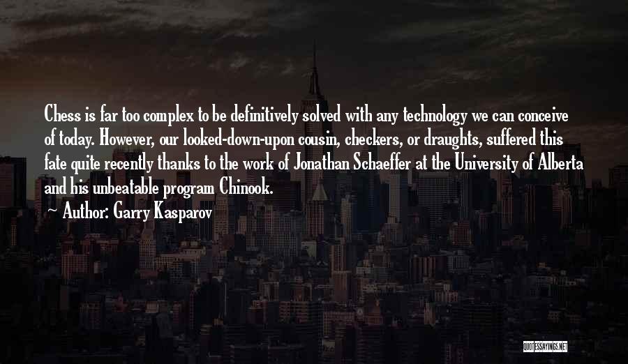 I'm Unbeatable Quotes By Garry Kasparov