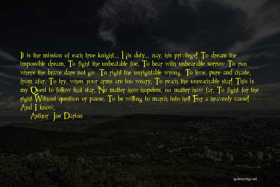 I'm Unbeatable Quotes By Joe Darion