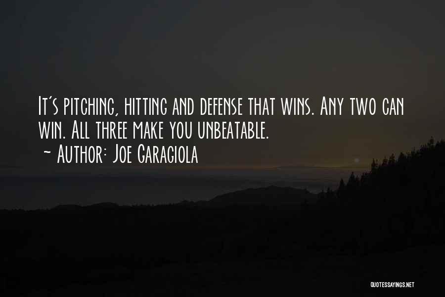 I'm Unbeatable Quotes By Joe Garagiola