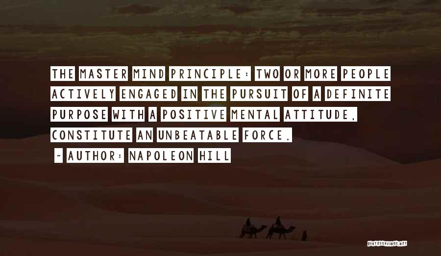 I'm Unbeatable Quotes By Napoleon Hill