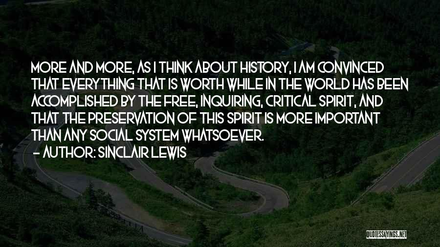 I'm Worth More Than That Quotes By Sinclair Lewis