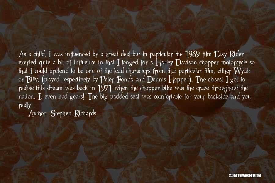 I'm Your Rider Quotes By Stephen Richards
