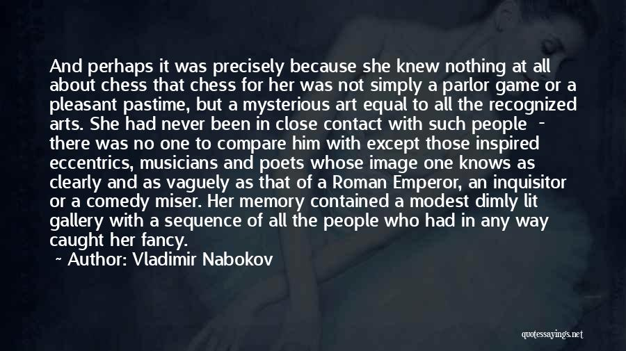 Image Gallery Quotes By Vladimir Nabokov
