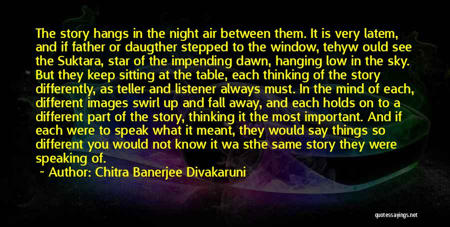 Images Of Night Sky With Quotes By Chitra Banerjee Divakaruni