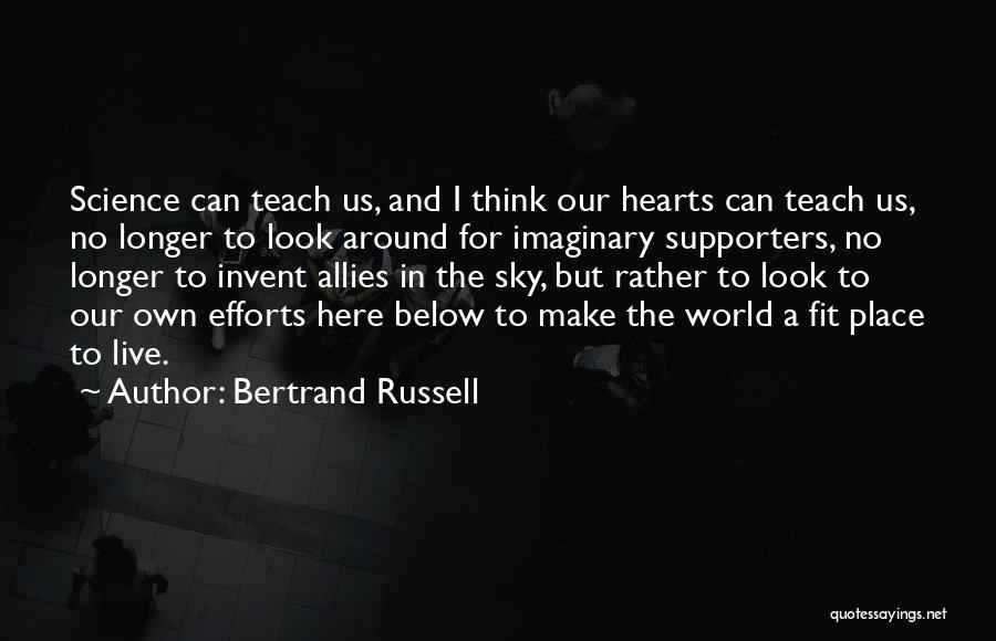 Imaginary World Quotes By Bertrand Russell