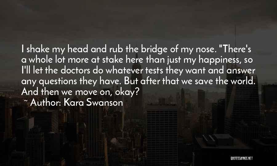 Imaginary World Quotes By Kara Swanson