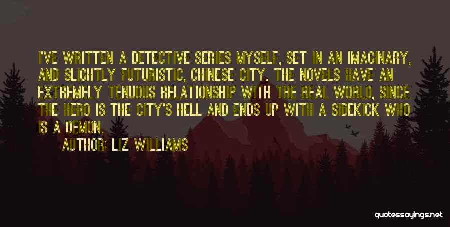 Imaginary World Quotes By Liz Williams