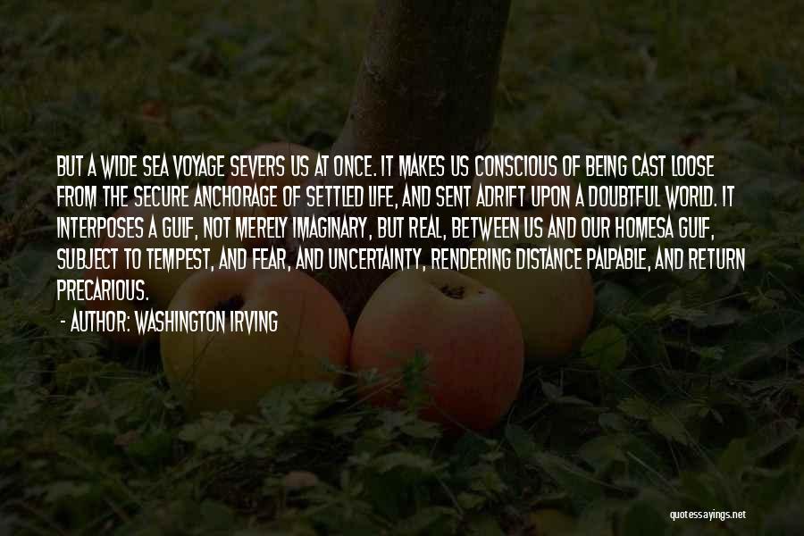 Imaginary World Quotes By Washington Irving