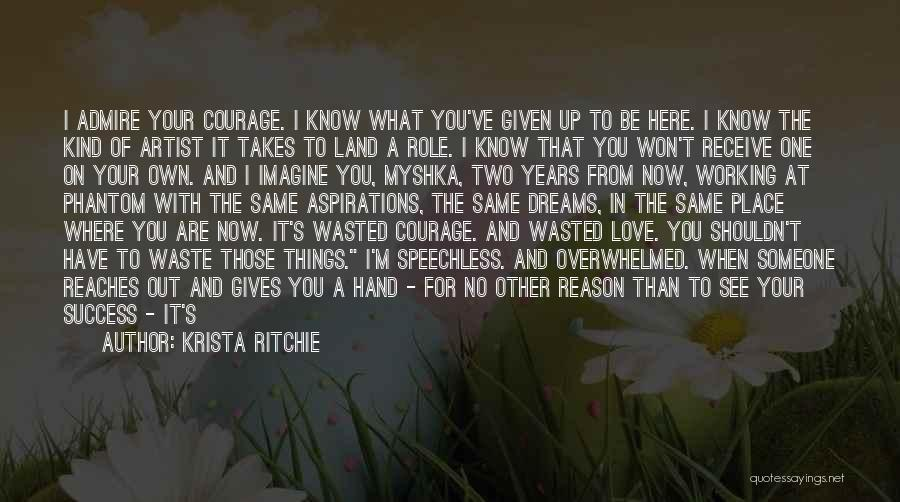 Imagine A Place Quotes By Krista Ritchie