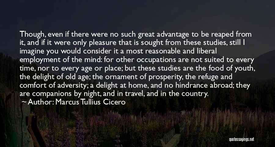 Imagine A Place Quotes By Marcus Tullius Cicero