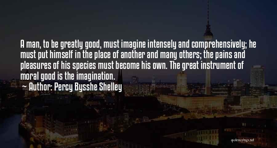 Imagine A Place Quotes By Percy Bysshe Shelley