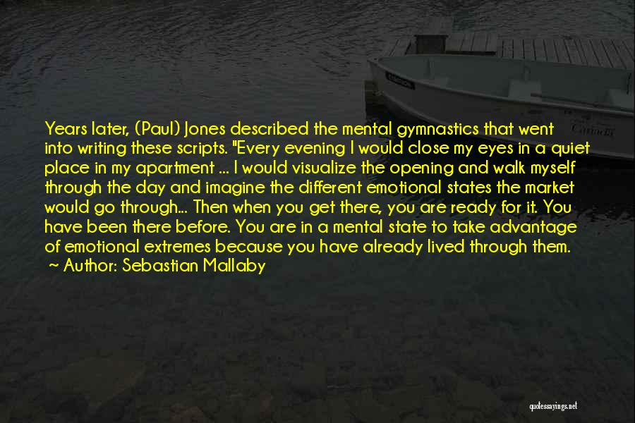 Imagine A Place Quotes By Sebastian Mallaby
