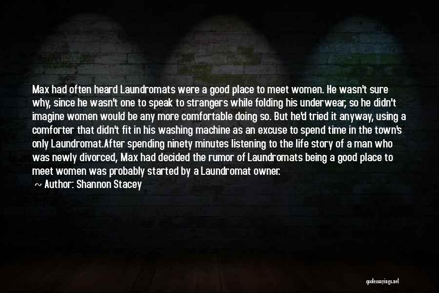 Imagine A Place Quotes By Shannon Stacey