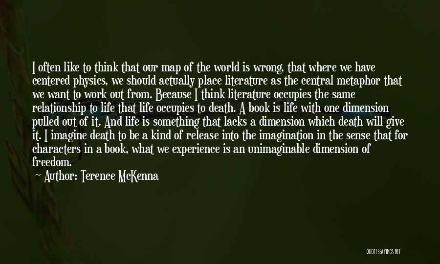 Imagine A Place Quotes By Terence McKenna