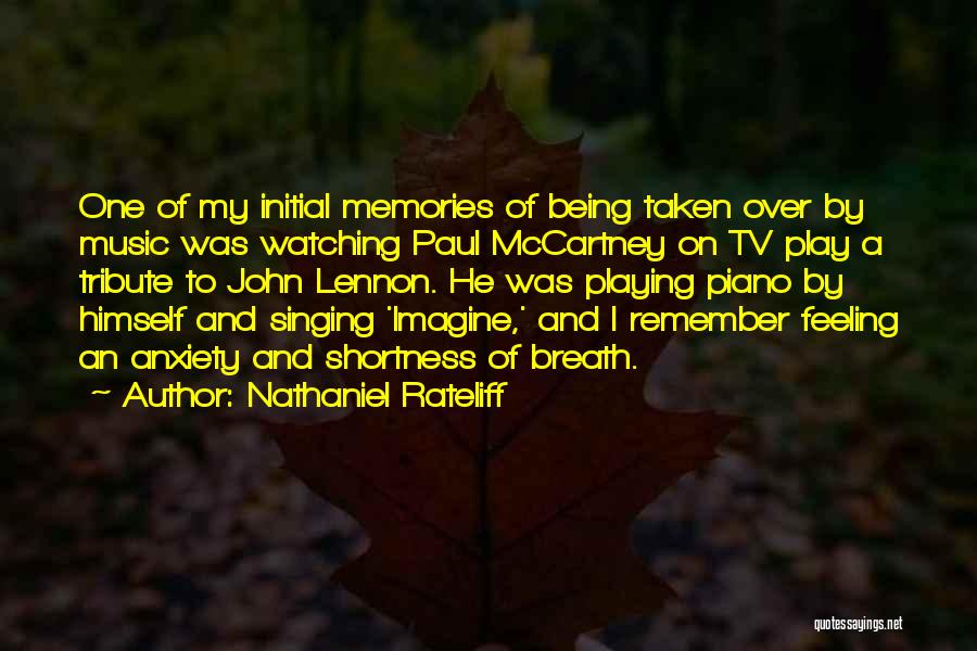 Imagine By John Lennon Quotes By Nathaniel Rateliff