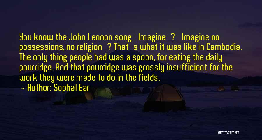Imagine By John Lennon Quotes By Sophal Ear