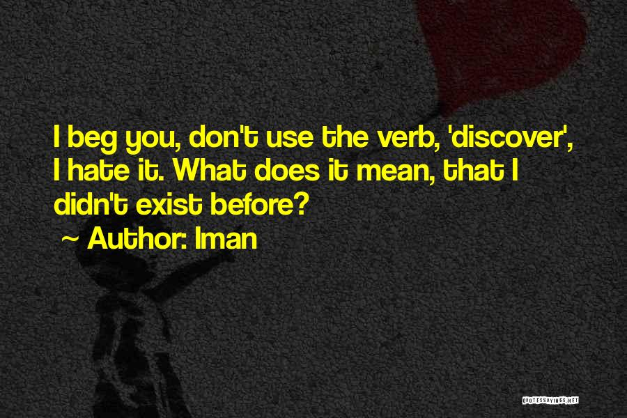 Iman Quotes 1685548