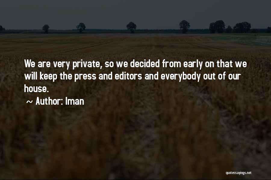 Iman Quotes 886147