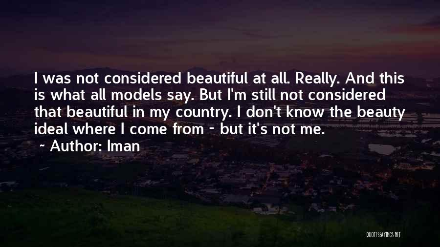 Iman Quotes 942669