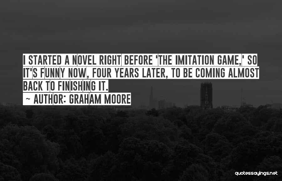 Imitation Game Funny Quotes By Graham Moore