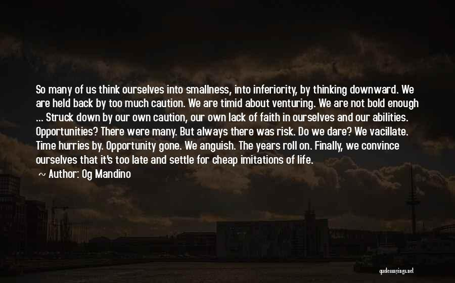 Imitations Of Life Quotes By Og Mandino