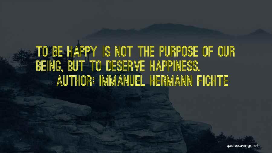 Immanuel Hermann Fichte Quotes 2069117
