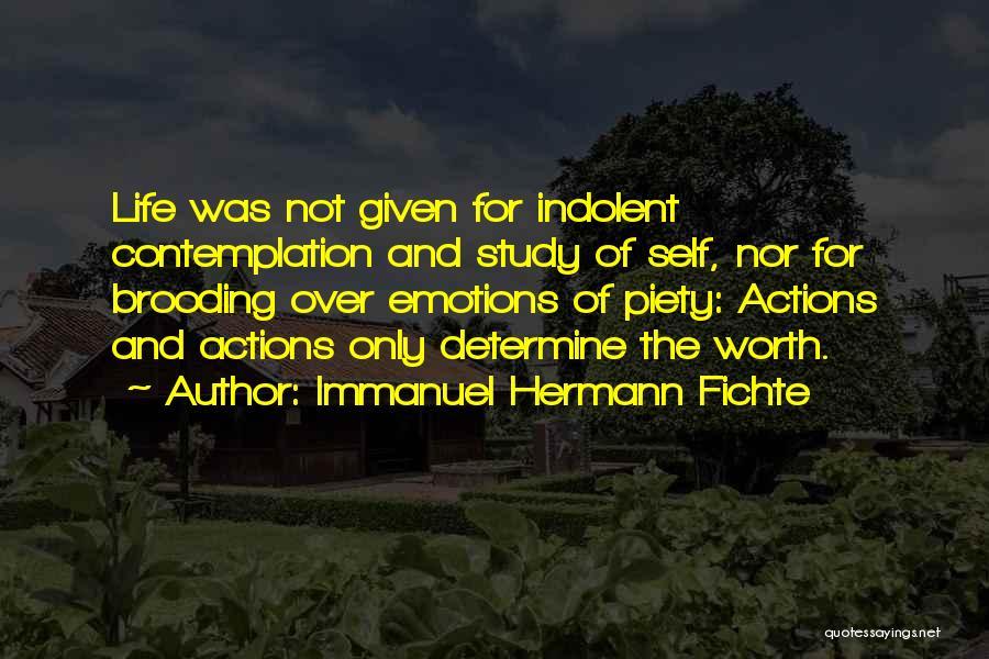 Immanuel Hermann Fichte Quotes 259187