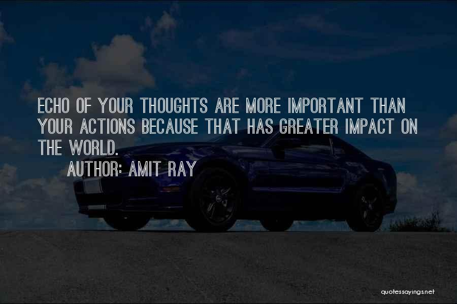 Impact On Inspirational Quotes By Amit Ray