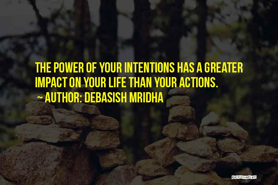 Impact On Inspirational Quotes By Debasish Mridha