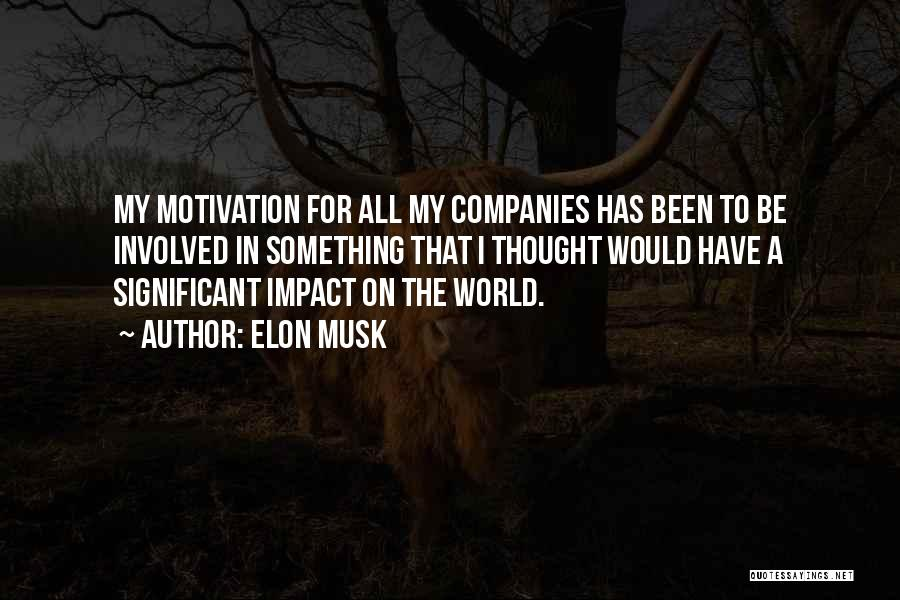 Impact On Inspirational Quotes By Elon Musk
