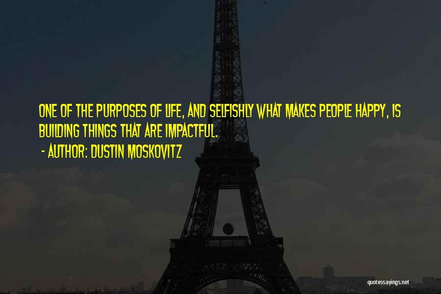 Impactful Quotes By Dustin Moskovitz