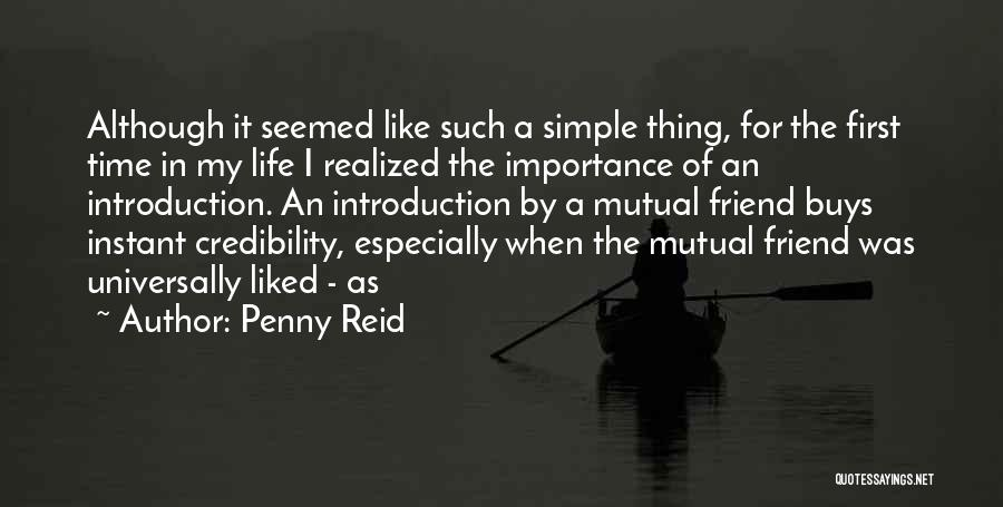 Importance Of Best Friend In Life Quotes By Penny Reid