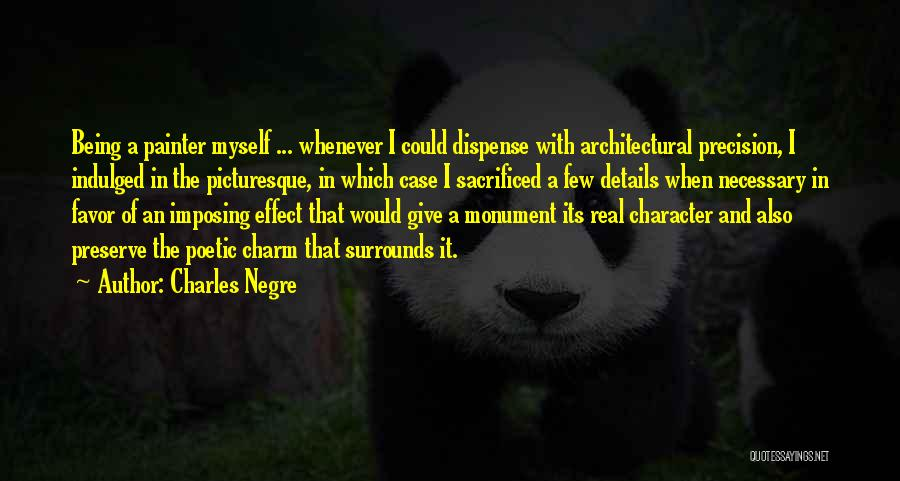 Imposing Quotes By Charles Negre