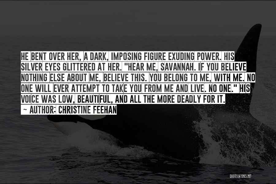 Imposing Quotes By Christine Feehan