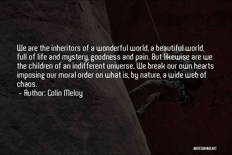 Imposing Quotes By Colin Meloy