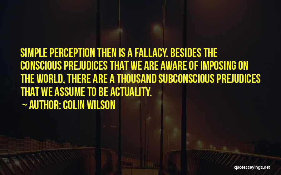 Imposing Quotes By Colin Wilson