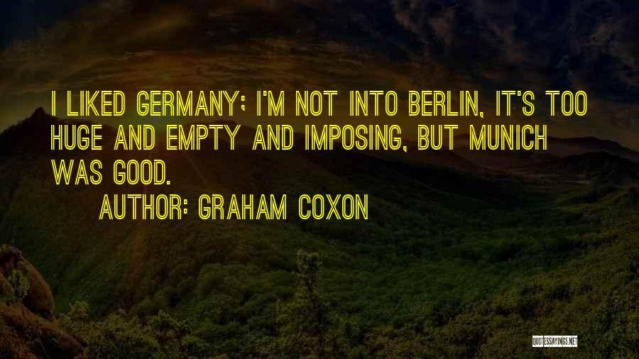 Imposing Quotes By Graham Coxon