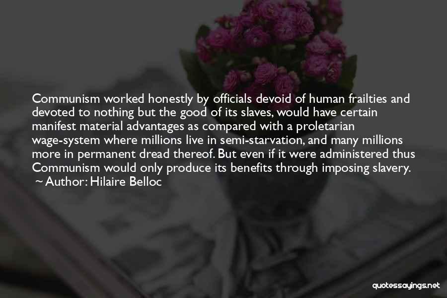 Imposing Quotes By Hilaire Belloc