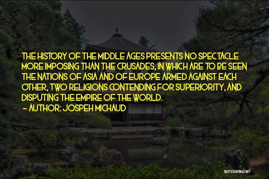 Imposing Quotes By Jospeh Michaud
