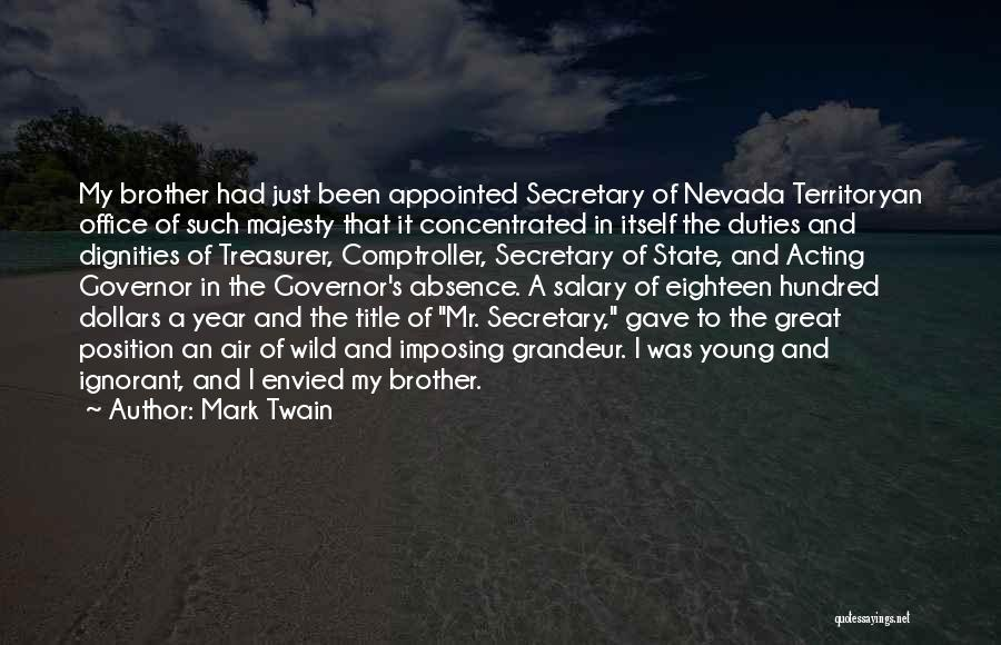 Imposing Quotes By Mark Twain