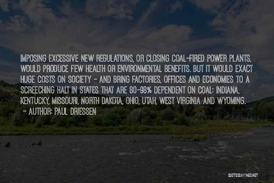 Imposing Quotes By Paul Driessen