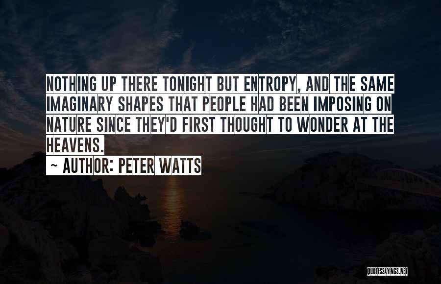 Imposing Quotes By Peter Watts