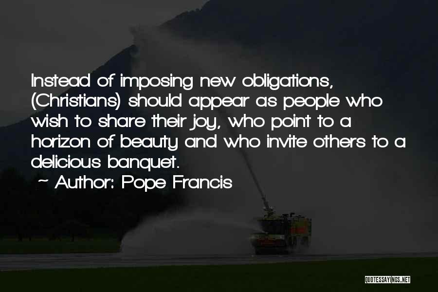 Imposing Quotes By Pope Francis