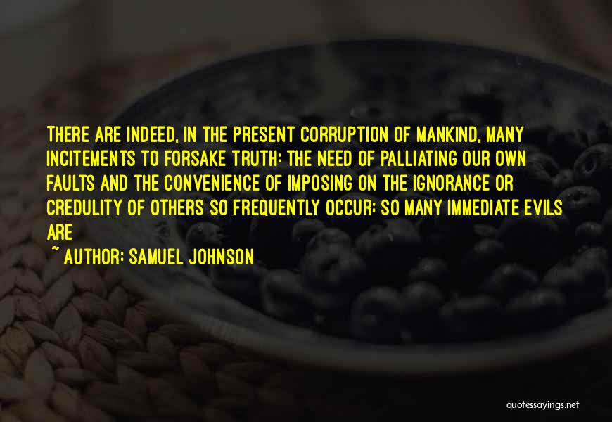 Imposing Quotes By Samuel Johnson