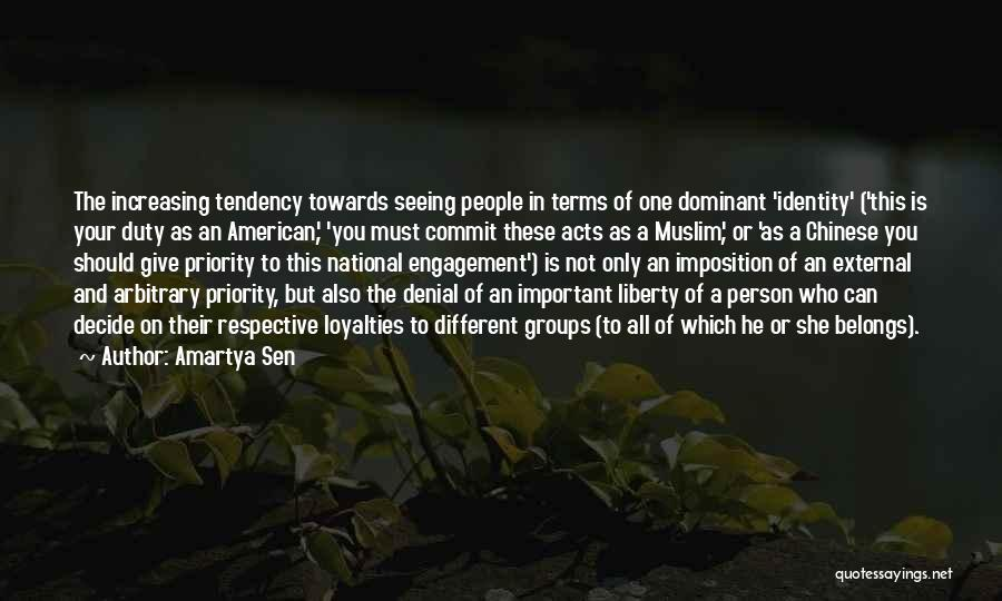 Imposition Quotes By Amartya Sen