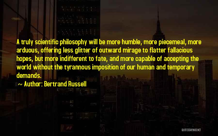 Imposition Quotes By Bertrand Russell