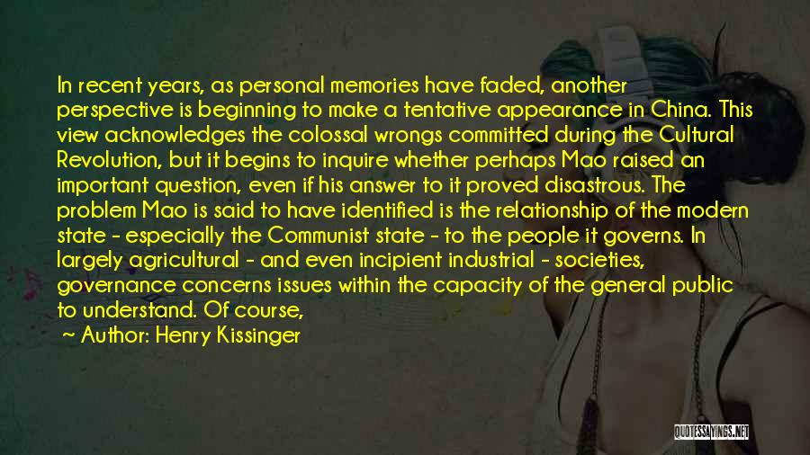 Imposition Quotes By Henry Kissinger