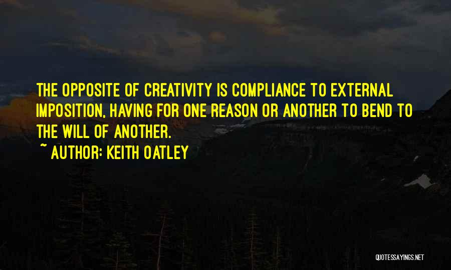 Imposition Quotes By Keith Oatley